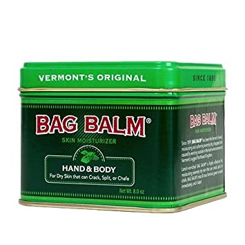 Bag Balm Skin Moisturizer Lotion – Hand and Body, 8 Ounces, 2 Tins