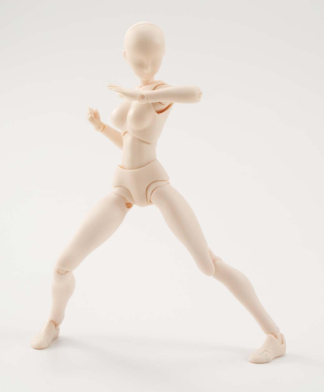 Body Chan Bandai Figurine S.H.Figuarts Female Pale Orange Color Version 4549660040873 Bandai Japan JAN162488