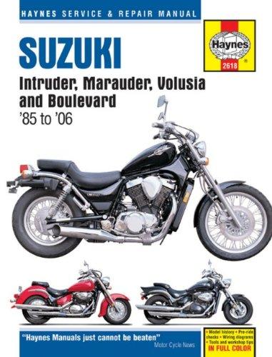 Suzuki Intruder, Marauder, Volusia & Boulevard 1985-2006 (Haynes Repair Manuals)