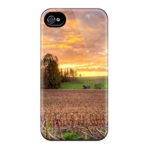 New Fashionable MeSusges NUjtvLd846kzedn Cover Case Specially Made For Iphone 4/4s(prairie Sunset)