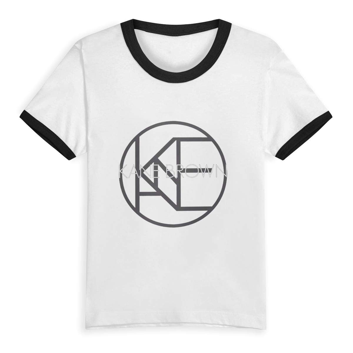 Crazy Kane Brown Unisex Kids Shirts Toddler Baby Cotton Tee Boys Girls Baseball Short Sleeve T-Shirt Top Clothes 2-6 Years