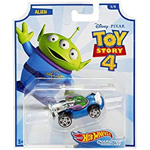 2019 Hot Wheels Character Cars Toy Story 4 Alien