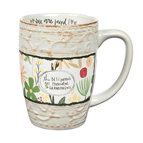 The Best Parents Get Promoted To Grandparents Mug, 12oz.