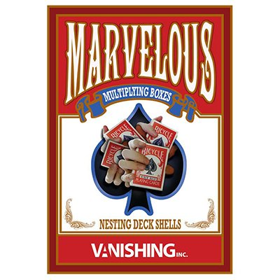 - Vanishing Inc. Marvelous Multiplying Card Boxes (Gimmick and DVD) by Matthew Wright and Trick