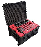 Professionell Trolley/Wheeled Carrying case Precisely fits for DJI Ronin MX with a lot of Space for Accessories on 3 Levels
