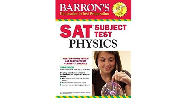 Barrons Sat Subject Test Physics Ebook