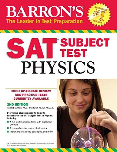 (Barron's SAT Subject Test:)