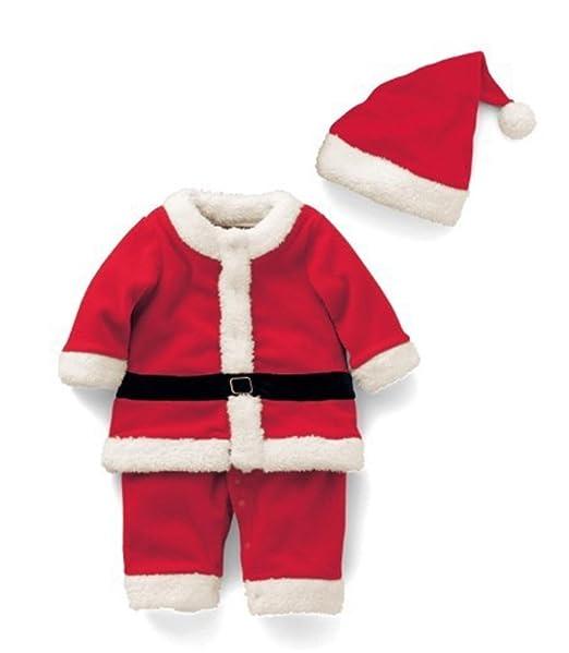 Babao Bebé Navidad Vestido Traje Sombrero 2pcs: Amazon.es ...