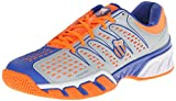 K-Swiss Men's Bighshot 2 Tennis Shoe,Storm/Electric Blue/Safety Orange,9 M US
