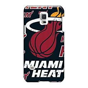 High Quality Cell-phone Hard Cover For Samsung Galaxy S5 Mini (cAF4585rMvt) Custom Lifelike Miami Heat Image