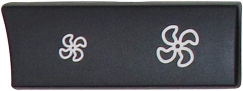 Prosperveil 1 Paar Auto-Heizung Klimaregulierungsschalter L/üfter Tasten Abdeckung f/ür BMW F10