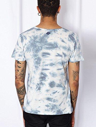 Kurzärmeliges T-Shirt Frano Blau Japan Rags