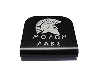 0444da3c5b78 Molon Labe Morale Tag for Your Hat! Clips Right On!