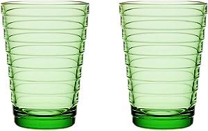 Bundle-60 Aino Aalto 11.75 Oz. Tumblers Apple Green (Set of 2)