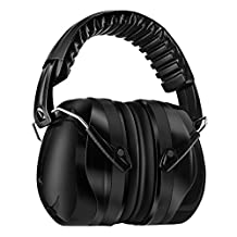 Homitt Sound Ear Muffs Hearing Protection Muff with Noise Cancelling Technology for Shooting, Hunting, Working or Construction - Black