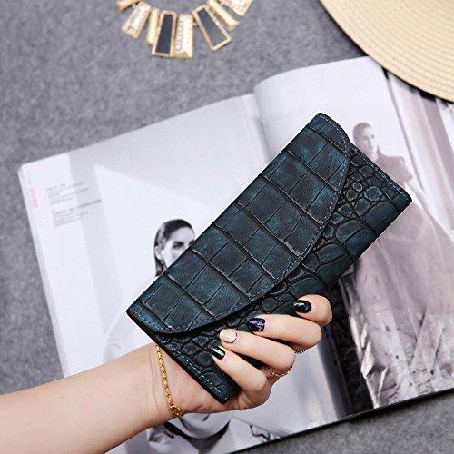 Kaxima Geldbörse Damen große Hand getragene Tasche decken 0 Wallet Pocket G