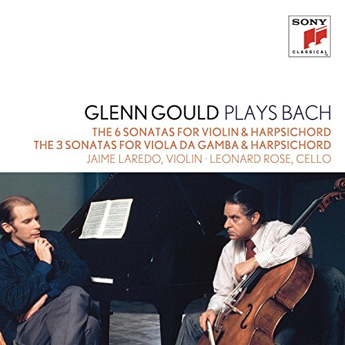 Gamba Sonatas (Glenn Gould plays Bach: The 6 Sonatas for Violin & Harpsichord BWV 1014-1019; The 3 Sonatas for Viola da gamba & Harpsichord BWV 1027-1029)