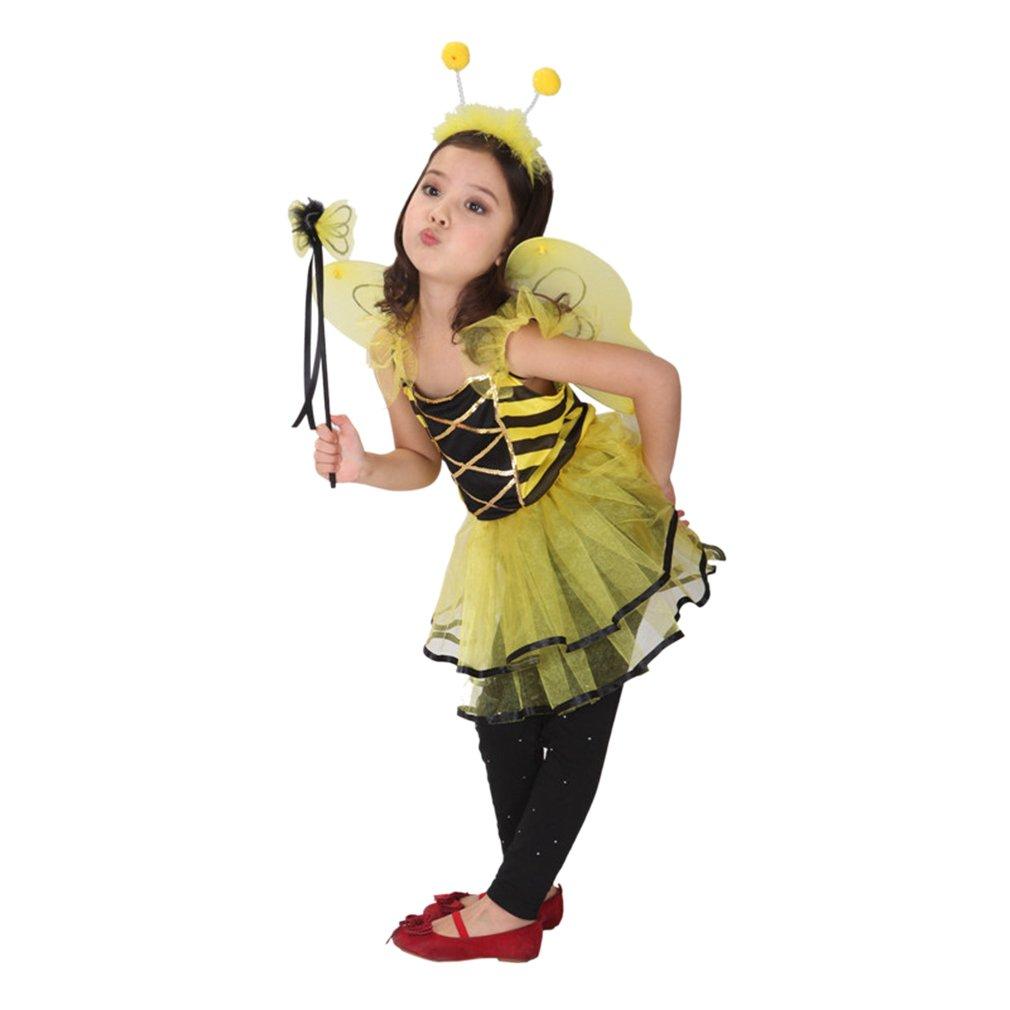 GIFT TOWER Déguisement Animal Petite Fée Papillon Princesse Halloween  Carnaval Costume Cosplay Abeille Enfant Fille  Amazon.fr  Vêtements et  accessoires fa27a8916ede