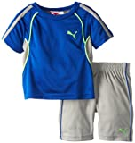 PUMA Little Boys' Toddler 48 Perf Set, Competition Blue, 3T