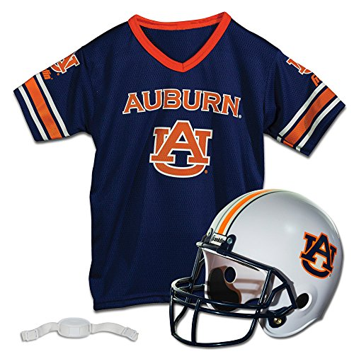 Franklin Sports NCAA Auburn Tigers Helmet and Jersey - Logo Jersey Tigers Auburn