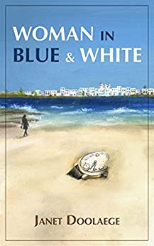 WOMAN IN BLUE AND WHITE by [Doolaege, Janet]