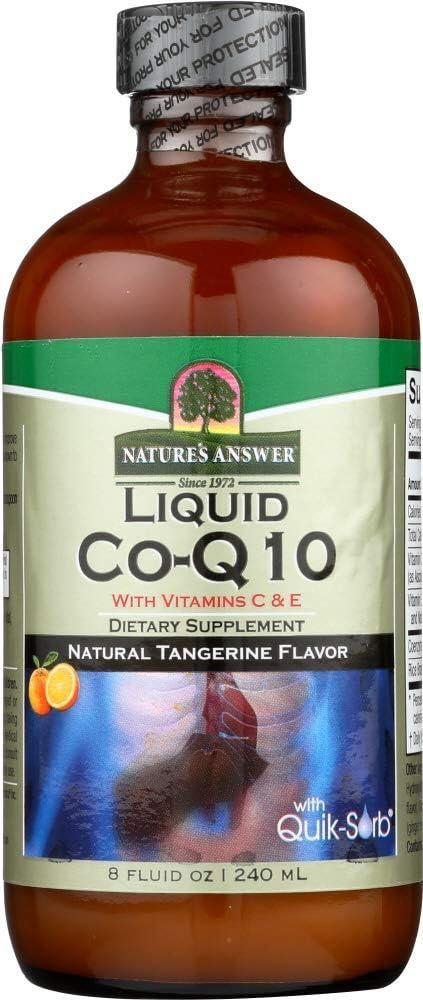 (NOT A CASE) Liquid Co-Q10 with Vitamin C & E Natural Tangerine