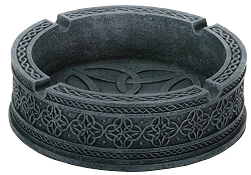 Celtic Ashtray Collectible Tribal Decoration