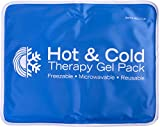 Roscoe Hot & Cold Reusable Gel Pack (11'' x 14''), Reusable, Microwaveable Hot/Cold Pack, for Treating Injuries with Hot or Cold Therapy