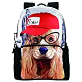 Bistar Galaxy 3D Animal Children Backpack School Bag Traveling Bags for Boys and Girls BBP106