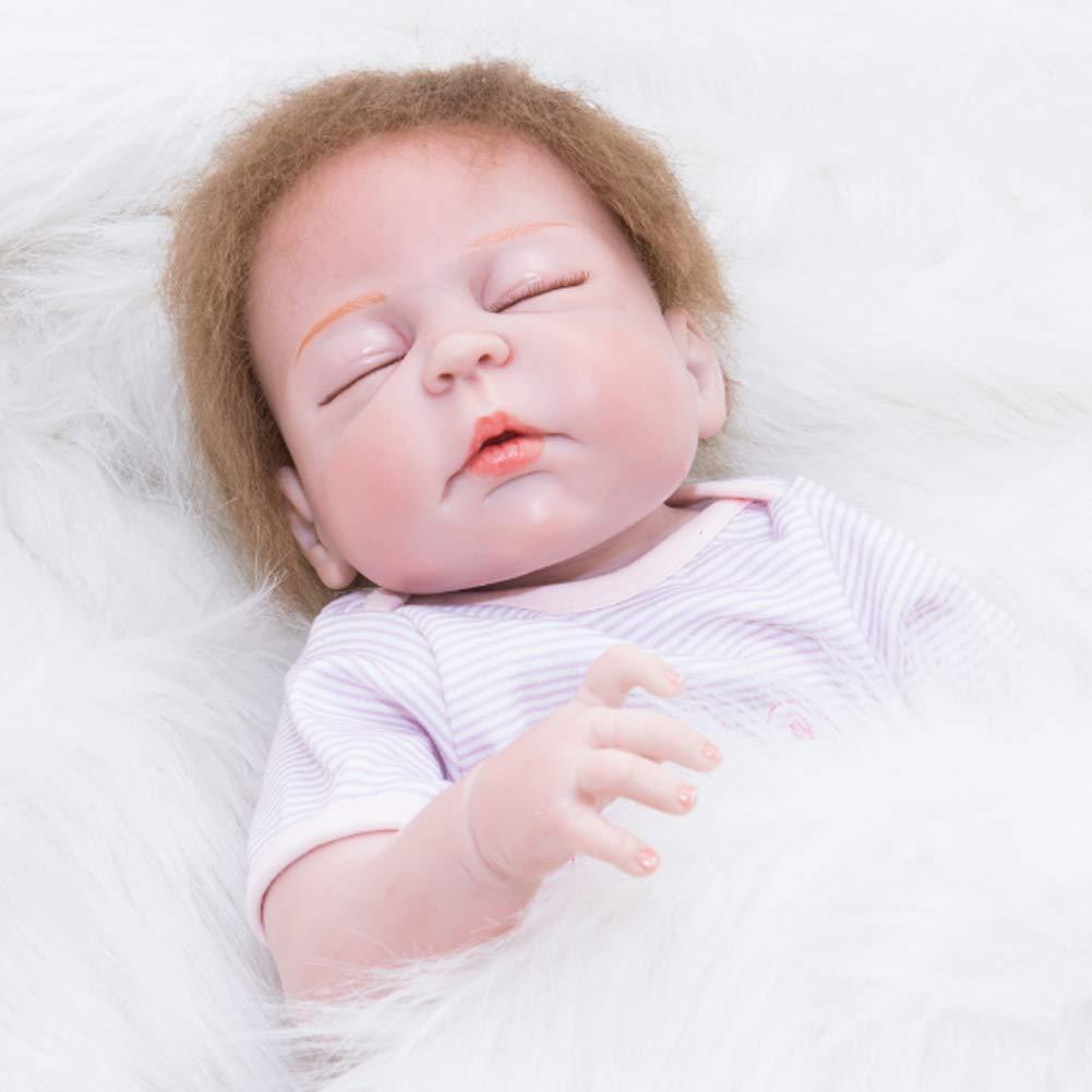 NACHEN Reborn muñeca simulación bebé 55 cm Realista recién ...