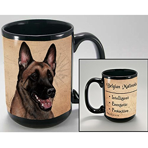 MY FAITHFUL FRIEND BELGIAN MALINOIS COFFEE CUP MUG PET DOG GIFT (Mug Malinois Belgian)