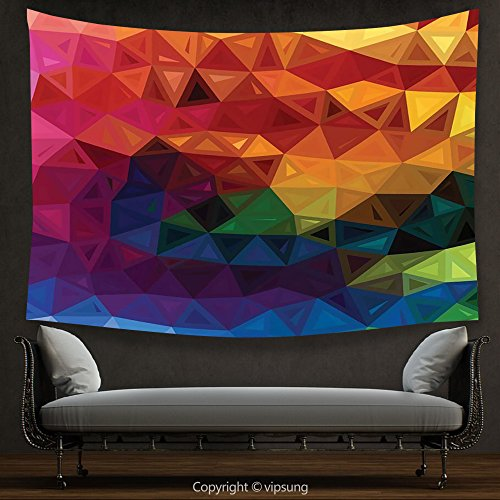 House Decor Tapestry Abstract Decor Modern Cool Geometric