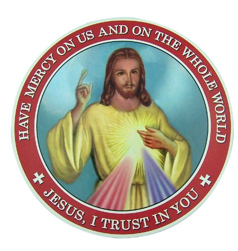 Jesus I Trust in You Sacred Heart of Christ 6