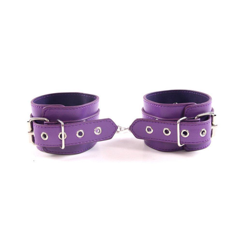 LSS BDSM Adulto Juguetes sexuales alternativos Herramientas Belleza de deseo Pulseras Púrpura Belleza Herramientas d2ed6c