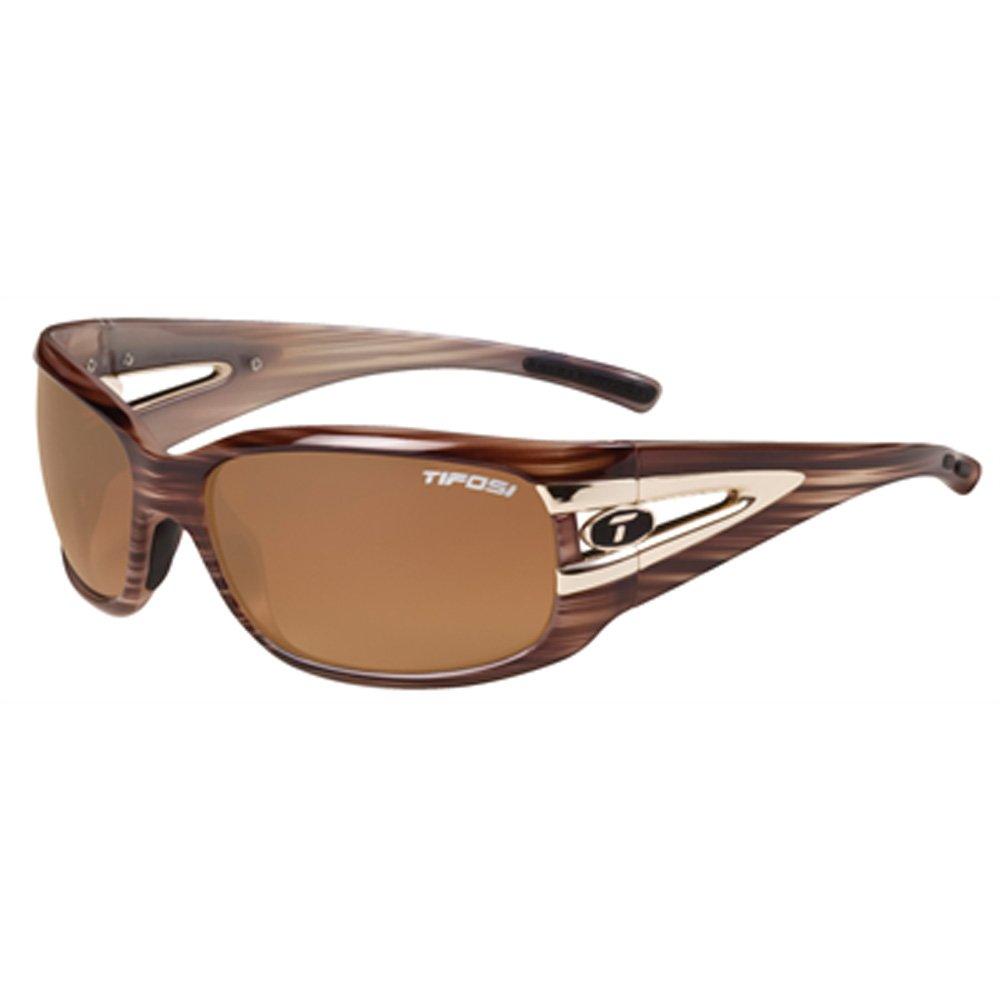 Tifosi Women's Lust Wrap Sunglasses Blue Tortoise 134 mm 8070405479