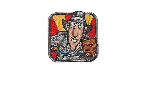 Inspector Gadget - Parche bordado con diseño militar de dibujos ...
