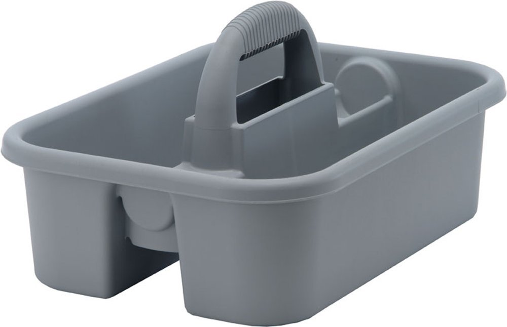 Quantum TC-500GY Tool Caddy 18-1/4-Inch by 13-3/4-Inch by 8-3/4-Inch, Gray, Case of 6