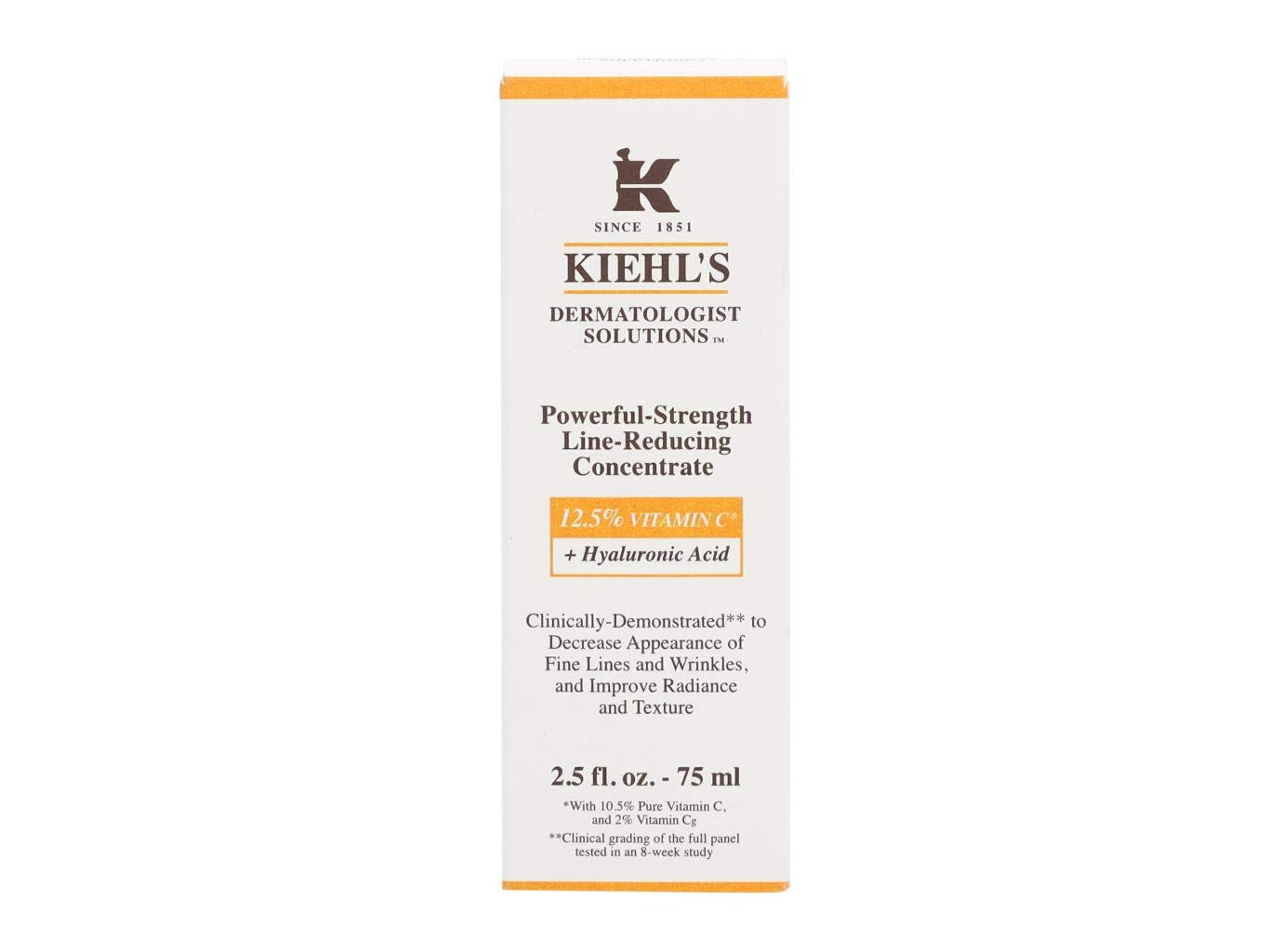 KIEHL'S Powerful Strength Line Reducing Concentrate Vit C + Hyaluronic Acid 75ml