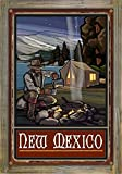 Best Tent Camping New Mexicos - New Mexico Lake Tent Camper Rustic Metal Print Review