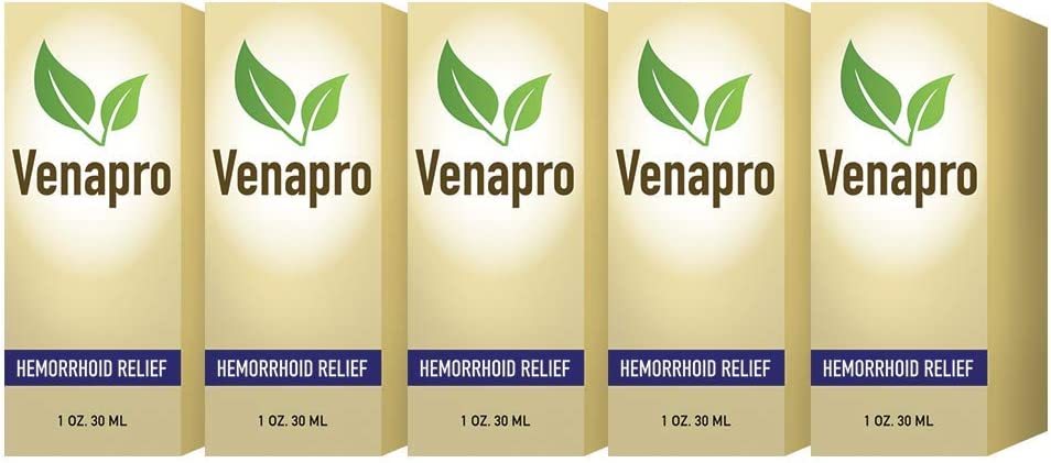 Amazon Com Venapro All Natural Hemorrhoid Treatment Fast And