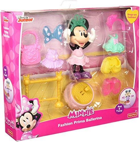 Fisher-Price Disney Minnie Fashion Prima Ballerina Figure