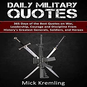 Daily Military Quotes Audiobook