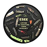 ESEE-6HM Fixed Blade Survival Knife, 1095 Carbon