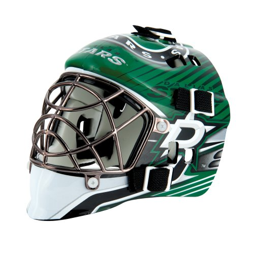 fan products of Franklin Sports NHL League Logo Dallas Stars Mini Goalie Mask