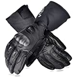 Heated Gloves,Motorcycle Gloves,12V 7.4V 2 in 1 Waterproof Cycling Gloves for Men Women,Cold Weather Electric…