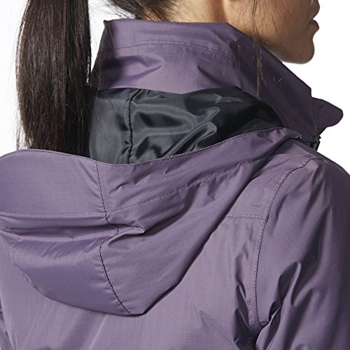 adidas Chaqueta para exteriores con capucha mujer Senderismo Día Grau/Lila
