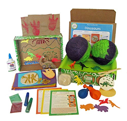 engineering toys for 12 year olds Green Kid Crafts, Dinosaur Science Discovery Box