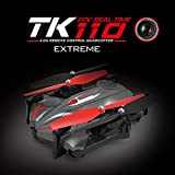 Tiean TK110HW Foldable 2.4G 4CH 6Axis RC Quadcopter Drone With 0.3MP WIFI Camera