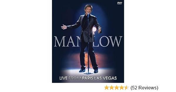 Amazon com: Barry Manilow: Live From Paris Las Vegas: Barry