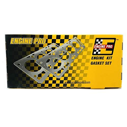 Engine Pro 30-1000 Overhaul Gasket Set Kit for SBC Chev 283 302 307 327 350 5.7L ()